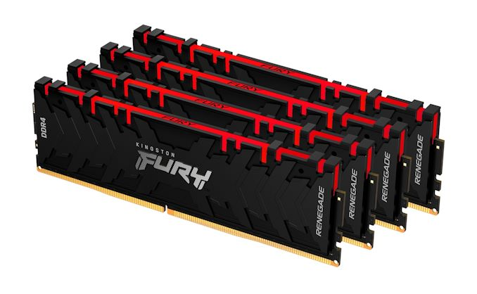 After Selling HyperX to HP, Kingston Resurrects FURY Brand for DRAM and SSDs