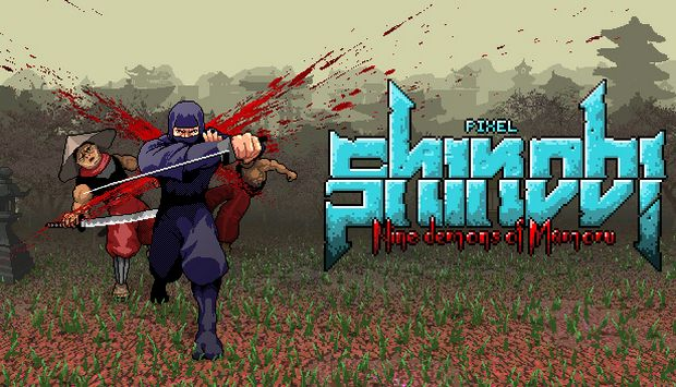 Pixel Shinobi Nine demons of Mamoru Free Download