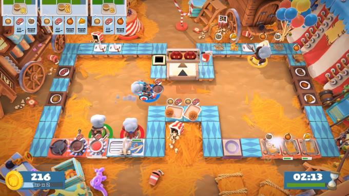 Overcooked 2 Carnival of Chaos PC Crack