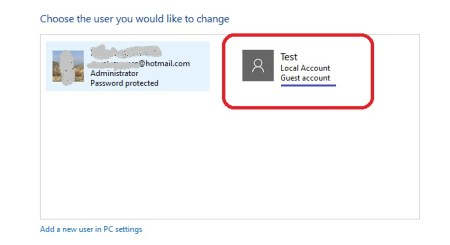 create guest account