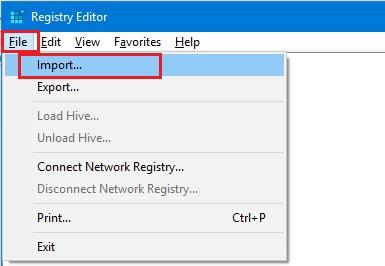 backup and restore windows registry windows 10