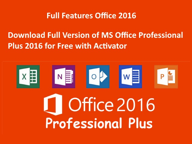 ms office 2016 professional pro plus