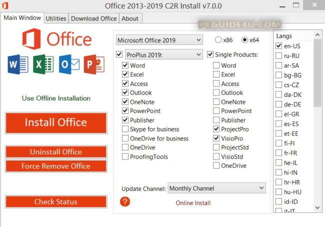 download Microsoft office professional plus 2019