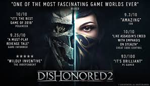 Dishonored 2 Crack PC +CPY CODEX Free Download Torrent