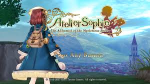 Atelier Sophie The Alchemist of the Mysterious Book Crack Torrent Game