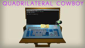 Quadrilateral Cowboy Crack CODEX Torrent Free Download PC +CPY