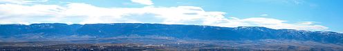 Casper Mountain, south of town, towers 3,000 feet above the plain. This touchstone serves as an enduring landmark for the direction challenged.,