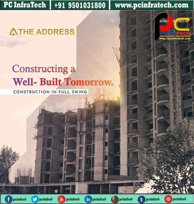the address mullanpur flats in new chandigarh