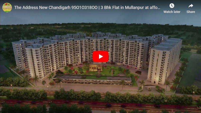 the address new chandigarh flats
