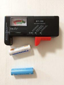 エネループ用にバッテリーテスター BT-168を買う