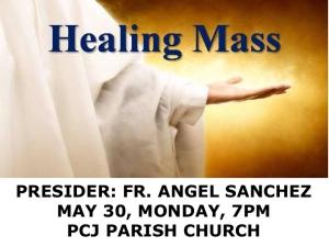 Healing Mass May 29