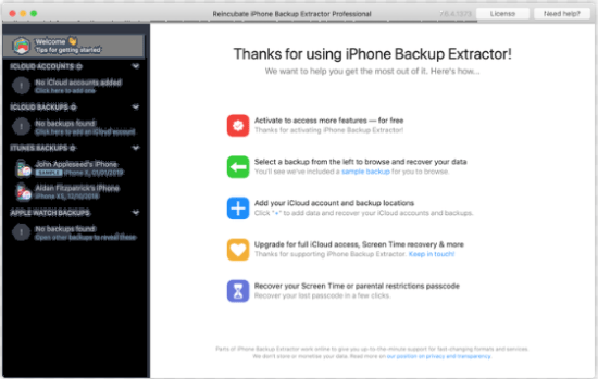 iPhone Backup Extractor 7.7.32 Crack With Keygen Full Free Download