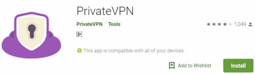 PrivateVPN For PC