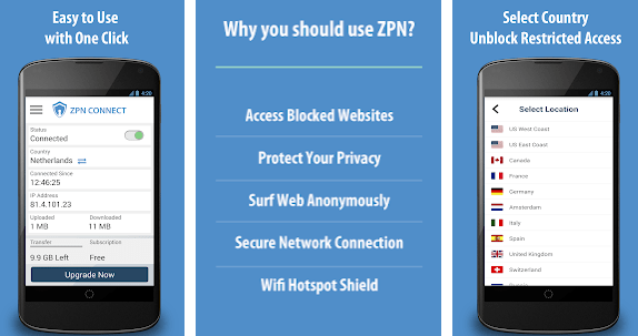 Free VPN Proxy ZPN Download for PC