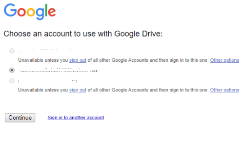 Click on the Download button on Google Drive.