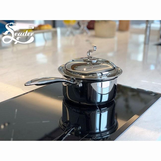 [利得鍋具]316醫療鋼複合金湯鍋18cm(單柄) 鍋具 特力家購物網