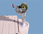 Wave Armor Winch Morring Post