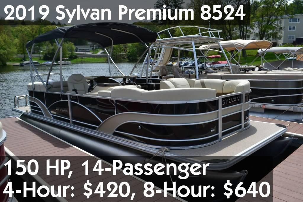 2019 Sylvan Premium 8524 Pontoon