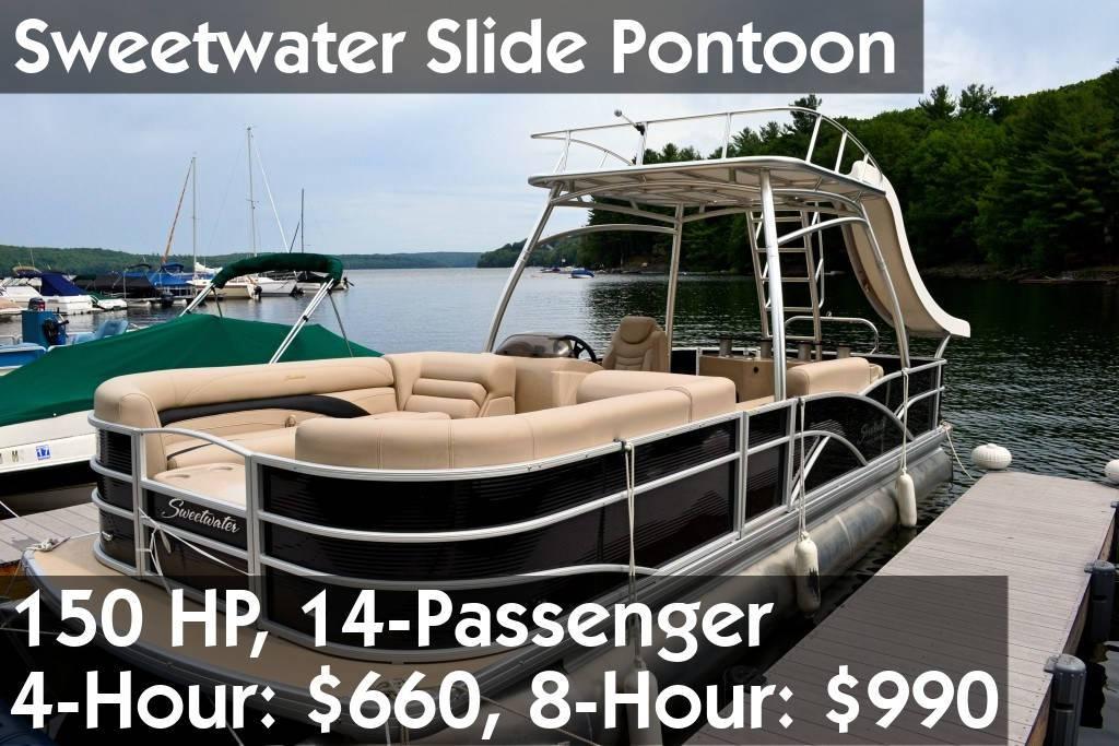 Sweetwater Slide Pontoon