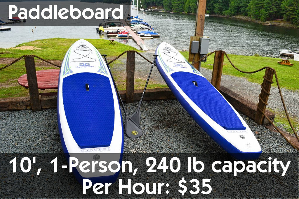 1-Person Paddleboard Rentals