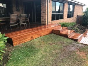 Final product - completed mearbu deck