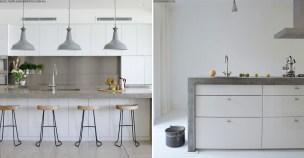 Concrete trend bench tops