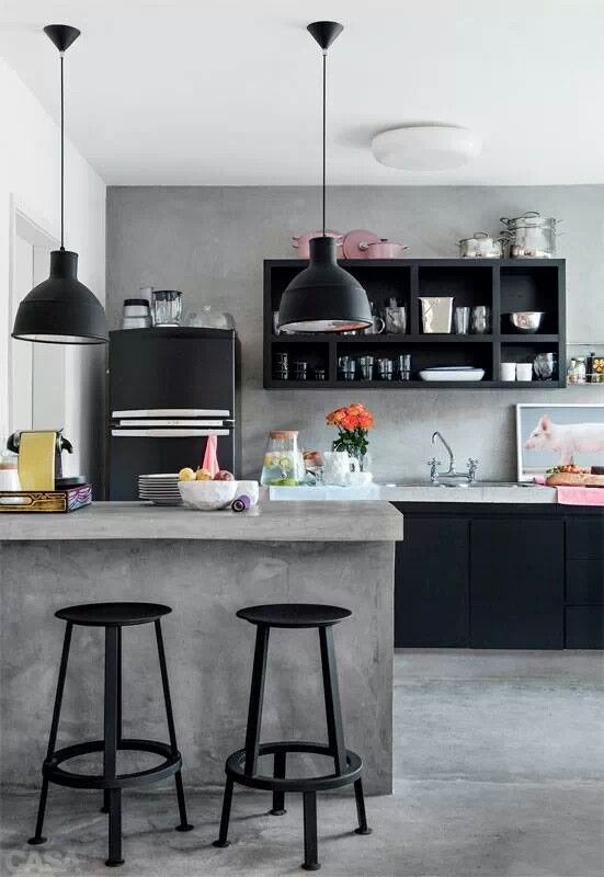 Concrete trend kitchens