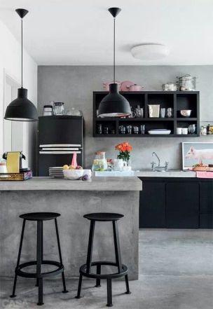 Concrete trend kitchens