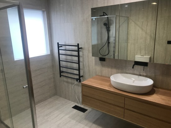 Bathroom renovation, Endeavour Hills Melbourne