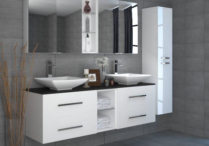 bathroom renovations - custom cabinetry