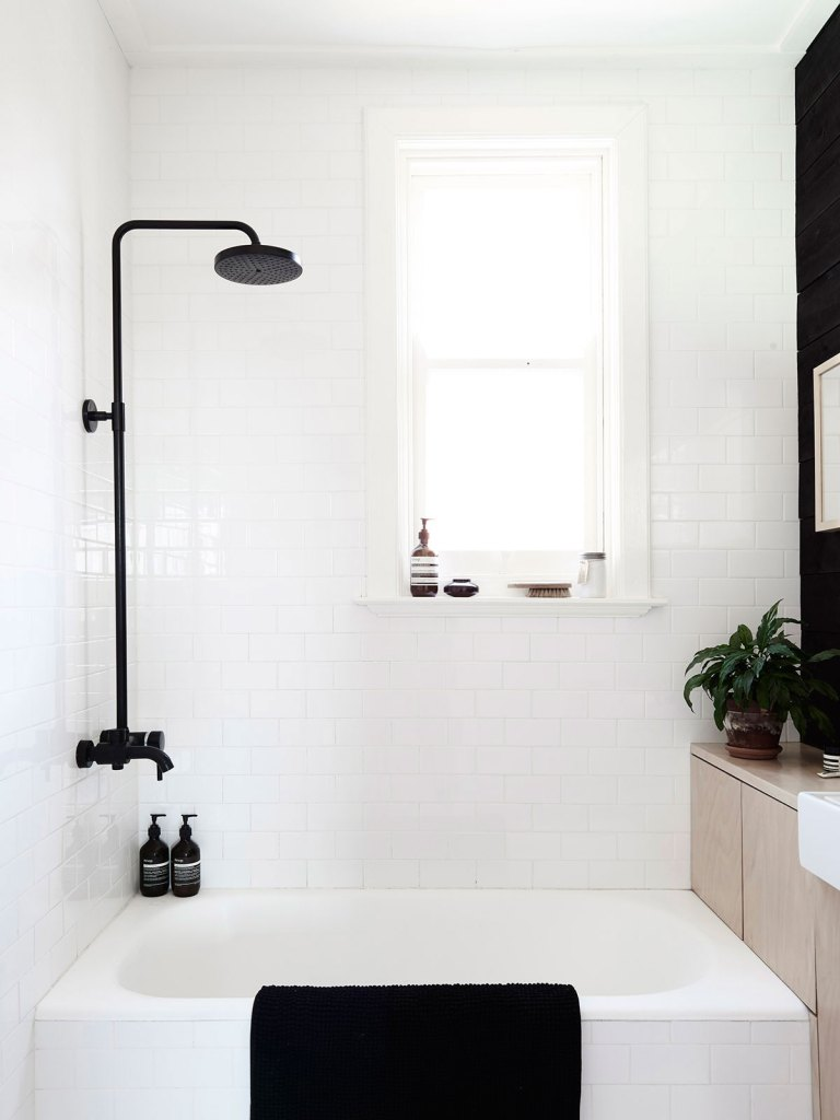 matte black bathroom fixtures
