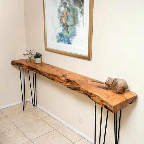 live edge timber slab