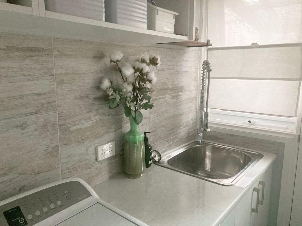 Laundry renovation, Montrose