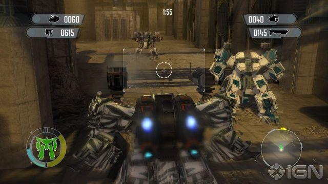 Front Mission Evolved Screenshot