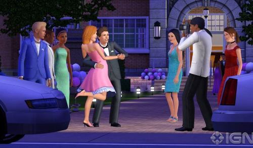 screen shot Of pc game the sims 3 generations 2011 download full game free at worldfree4u.com