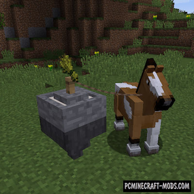 Horse Power Mod For Minecraft 1 12 2 1 11 2 Pc Java Mods