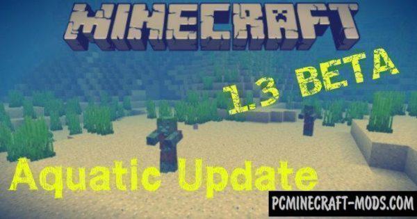 Download Minecraft PE 1703 130 Beta Aquatic Update