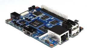 BPI-M64 Banana Pi Board - 64-битный четырехъядерный мини-одноплатный компьютер