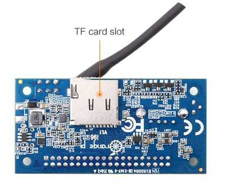 Orange Pi i96 - одноплатник совместимый со спецификацией 96Boards IoT Edition с WiFi и Bluetooth
