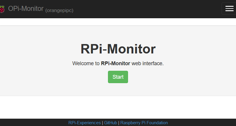 Установка RPi-Monitor на Armbian (debian jessie)