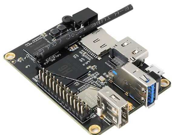 Orange Pi Lite2 H6 -  64bit четырехъядерный одноплатник с USB3.0, Wi-Fi AC и 1Гб RAM