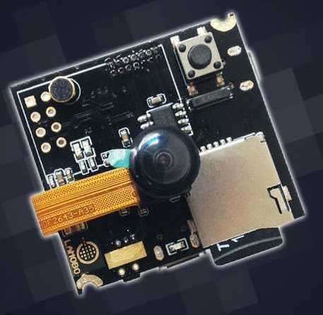 Banana PI BPI-D1 миниатюрный одноплатник с HD-видеокамерой