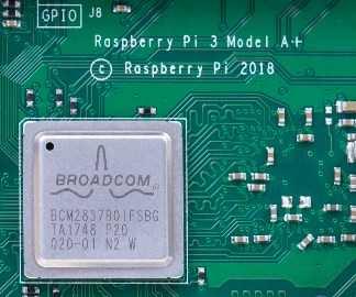 Raspberry Pi 3 Model A+ продолжение серии A