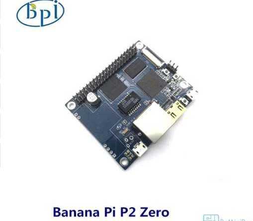 Banana Pi BPI P2 ZERO микрокомпьютер с POE и Wi-Fi на OS Linux