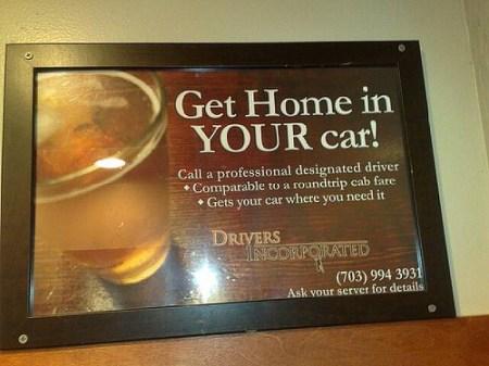 designated driver photo