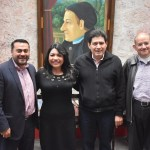 Diputados Raymundo Arreola Ortega y Brenda Gutiérrez Fraga