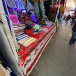 Compras navideñas Mercado Independencia