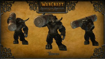 warcraft armies of azerot tauren