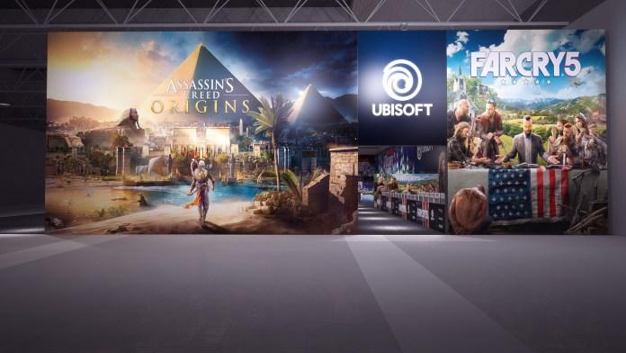 Warsaw Games Week 2017 - stoisko Ubisoft