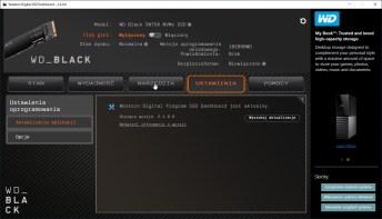 WD Black SN750 1 TB - WD SSD Dashboard